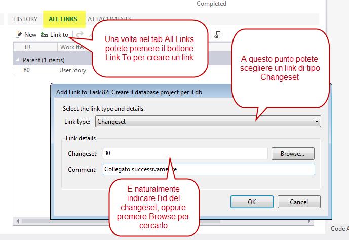 Open a team project folder